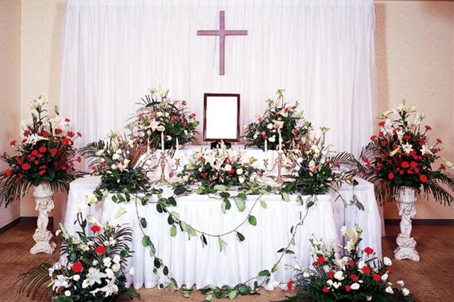 キリスト葬 祭壇2